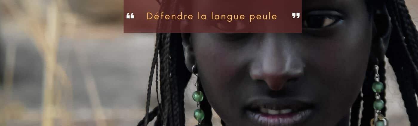 défendre la langue peule
