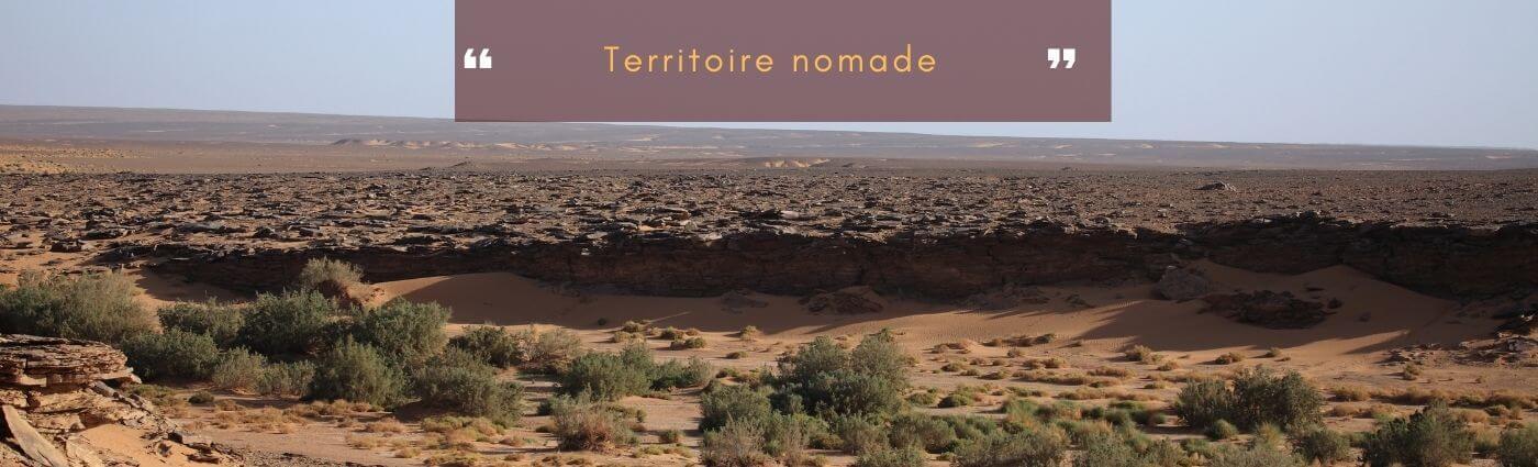 Le pays et territoire nomade
