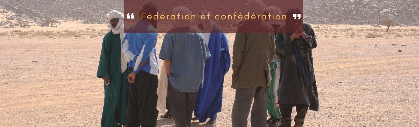 fédération et confédération