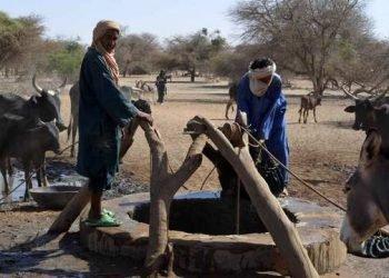 Nomades au puits