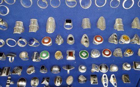 bijoux et bagues en argent
