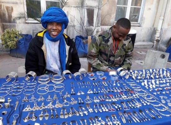 Photo des artisans touaregs Joyaux du Sahara