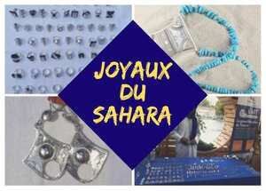 Photo vente de bijoux touaregs