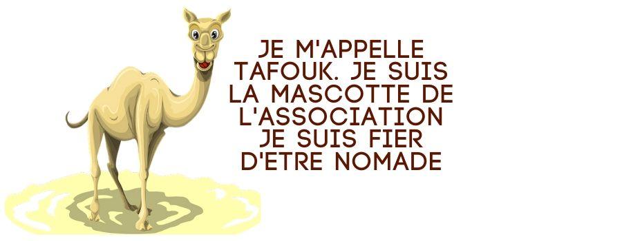 mascotte de l'association Tafouk