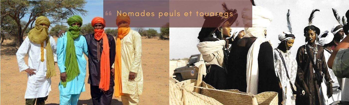 nomades peuls et touaregs